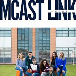 MCAST Link Front image magazine