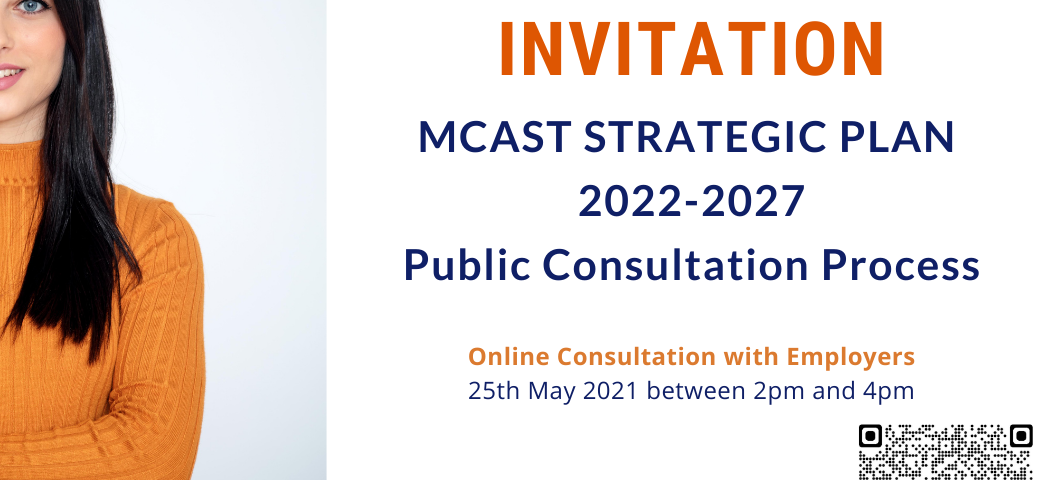 Invitation - Employer Consultations for MCAST Strategy
