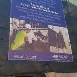 MCAST Gudja Chapel Restoration 01