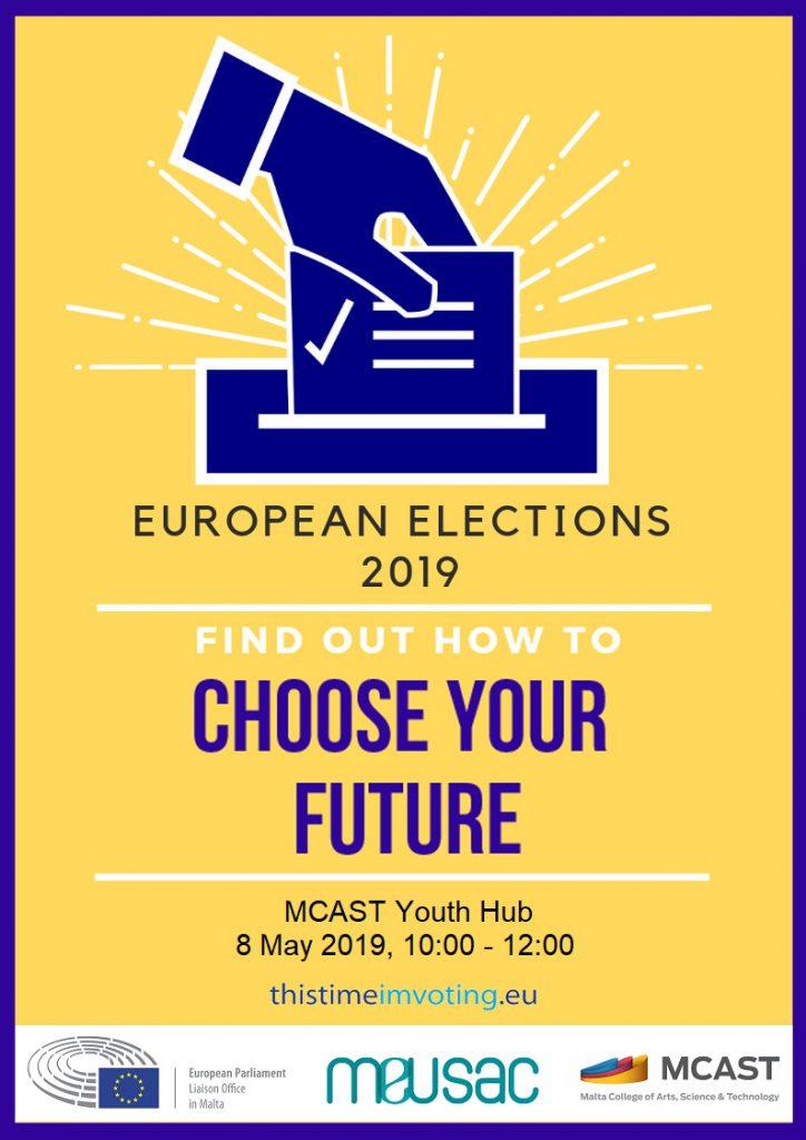 Poster EU elections